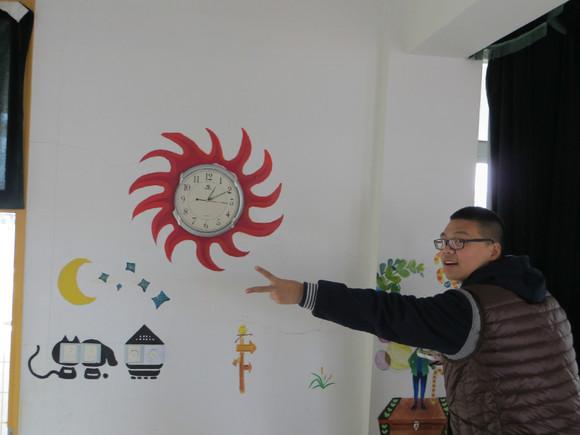 美术教室和音乐教室的墙绘图片