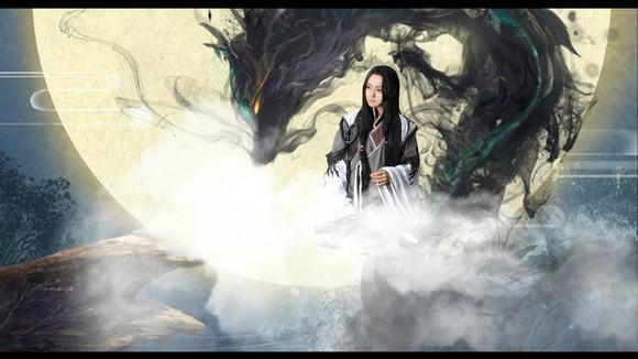 【cos正片】《古剑奇谭》===太子长琴-----太古琴心图片