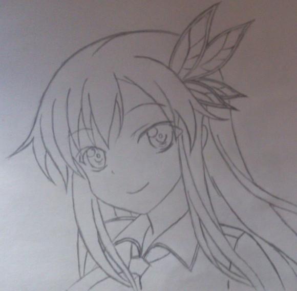 铅笔画漫画人物 铅笔画图片大全 铅笔画图片可爱简单 漫画人物女孩铅