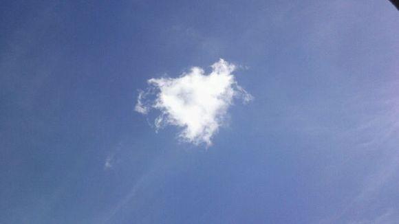 73心形云!图片