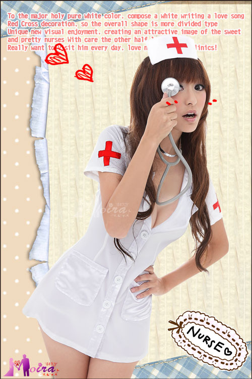 白丝小护士