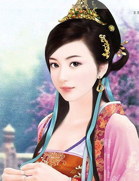 【丹青】古代美女丹青图图片