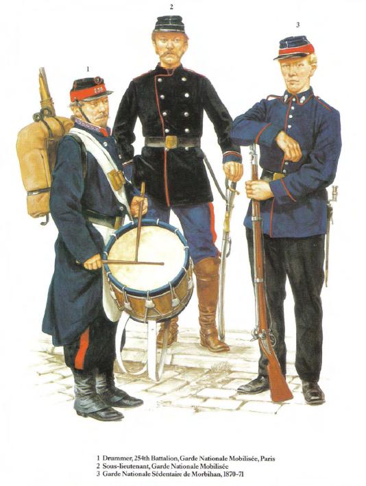 十九世纪法国军装传统采用灰色…