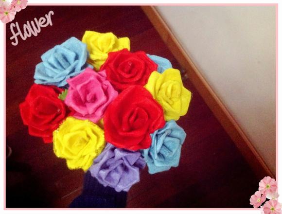 [玫瑰花]送给妈妈的生日礼物图片