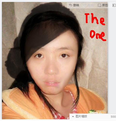 转贴:谁能把这张相片p成美女