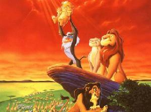 求《狮子王1》中英文对照的全部台词