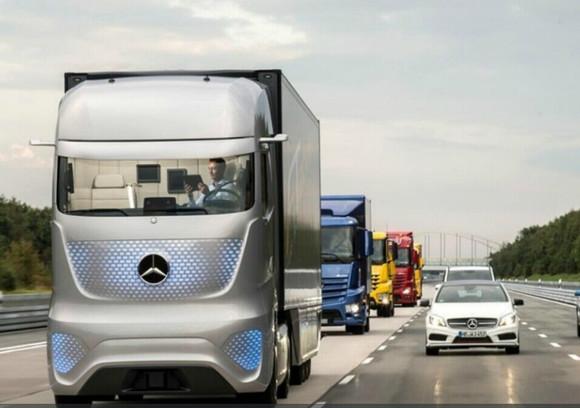 货车也疯狂 奔驰未来卡车2025可无人驾驶 慢肾心情吧 百度高清图片