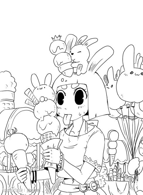 小森林和小兔子吧_百度贴吧图片