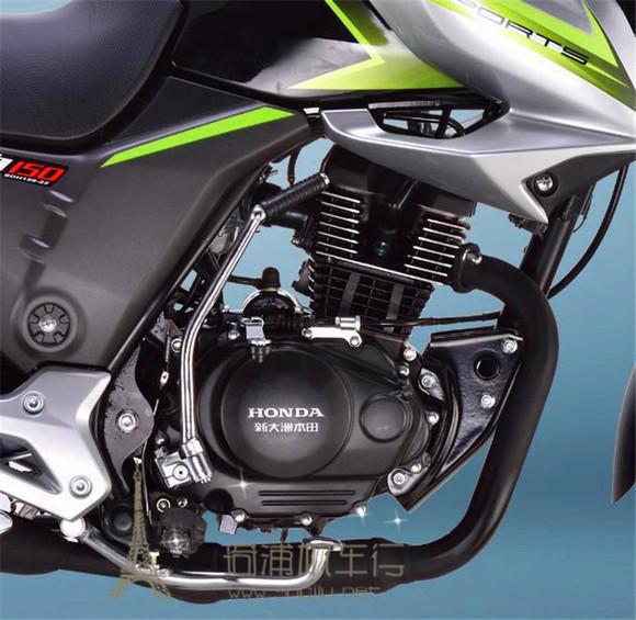 新大洲本田战豹SDH150 22跨骑式摩托车价格和颜色开始公布