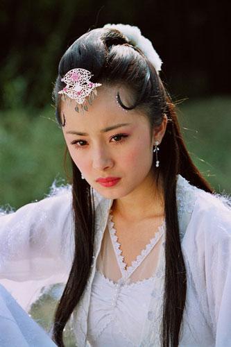 古装美女的额前头饰 古剑奇谭电视剧吧