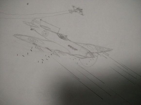 火的场景,个人对机翼图片