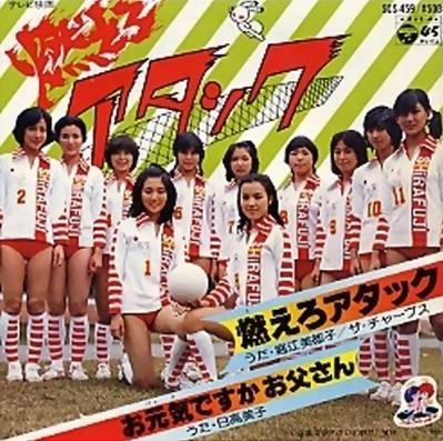 排球女将》是80年代初期风靡中国、日本等地的一部日本偶高清图片