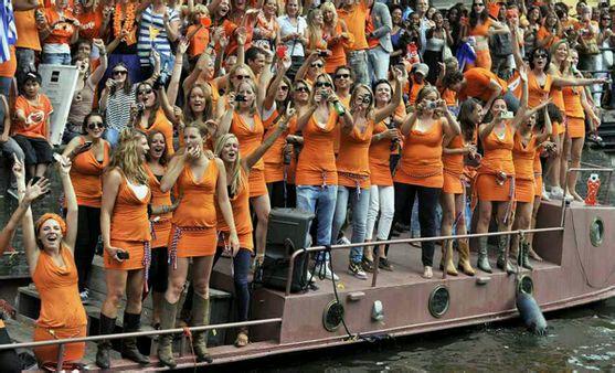 如今荷兰男人的平均身高超过183米