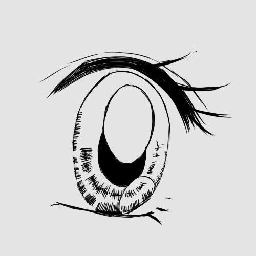 动漫人物眼睛简笔画_简笔画人物 眼睛教程_眼睛简 ...