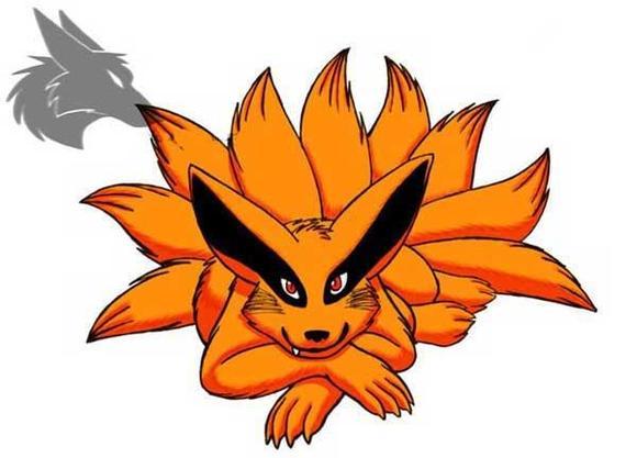 火影忍者九尾妖狐(九喇嘛) -_疾风之刃神秘力量吧_百度贴吧高清图片