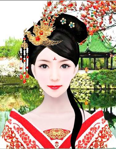 【武媚娘传奇】手绘少女武则天动漫版