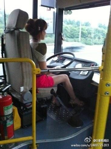 来看看这是几路公交车