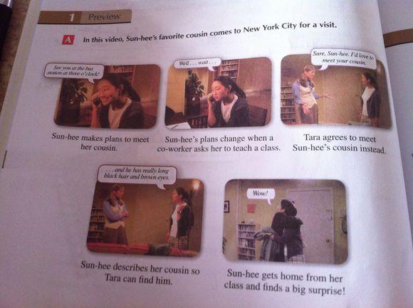 【一个悲伤的故事】大学英语是怎样的图片