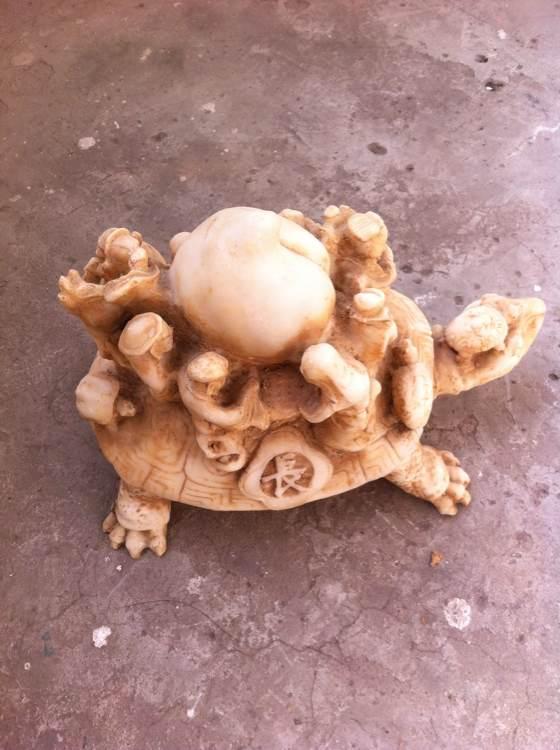八仙过海龟桃寿,真假 古董吧 百度贴吧