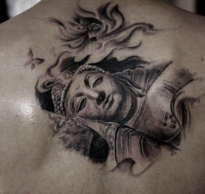 求好看的佛像纹身或者手稿,跪求!图片