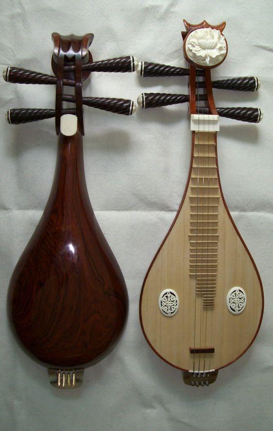 月琴和柳琴指法是和琵琶一样吗?是不是学了图片