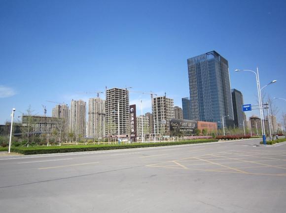 徐州新城区初步建设成果and轨道交通1号线站台详细规划图 高清图片
