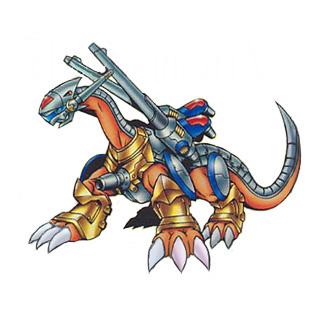 钢铁海龙兽 metalseadramon高清图片