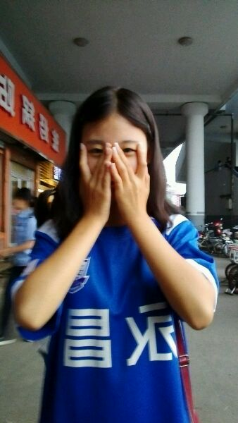 石家庄永昌的美女球迷