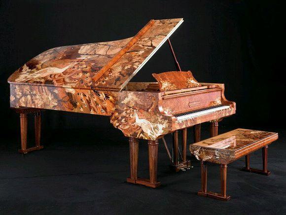 世界上最贵的钢琴_钢琴吧图片