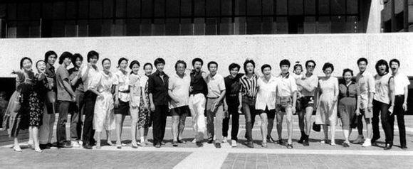 北京电影学院表演系历届合影图片