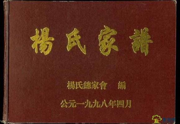 《杨氏家谱史》贵州桐梓杨修礼图片
