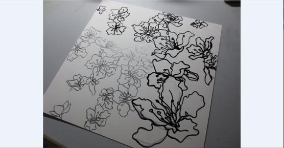 平面构成空间作业 平面构成空间作业 平面构成肌理作业图片