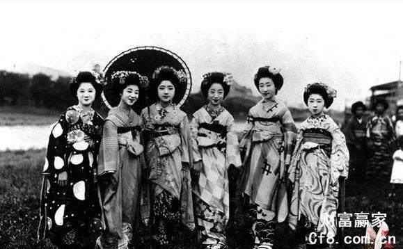 日本古代女子图 人种吧