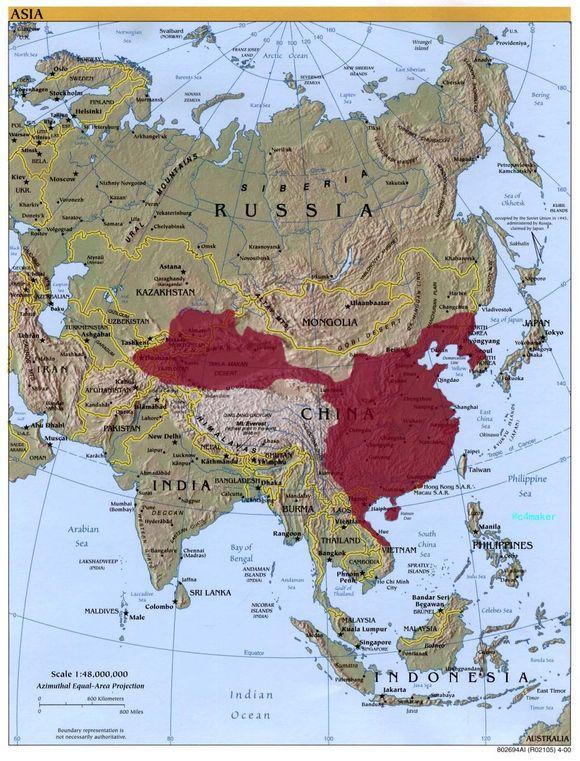 统一朝简图_历史地图吧