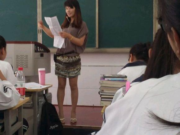 一中我的美女老师