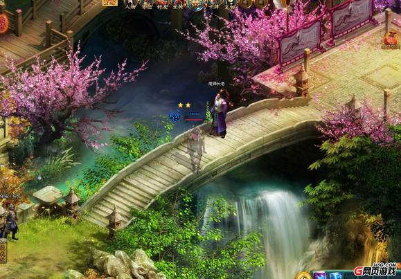 游戏的亮点之一.《九龙朝》游戏设定了四种角色可供选择:天高清图片