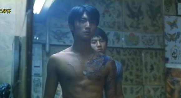 因为陈浩南,所以才那么多人纹过肩龙吗?图片