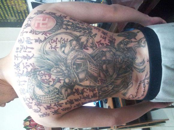 关于纹身讲究与忌讳图片