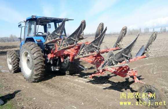 上海纽荷兰ts拖拉机 西部农机吧 百度贴吧 高清图片