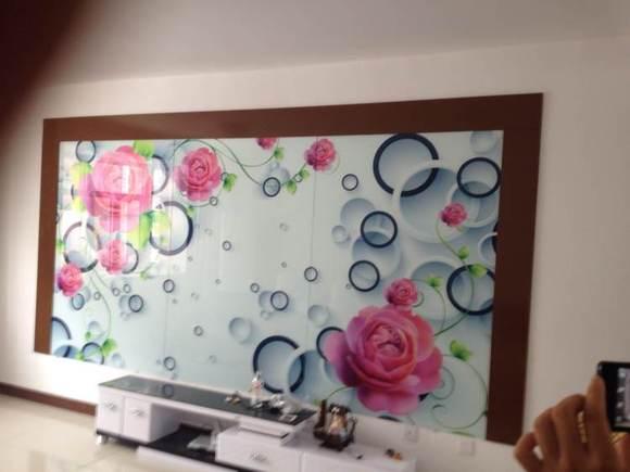 艺术玻璃,影视墙,三联画,装饰画,广告,有需要的找我啊!高清图片