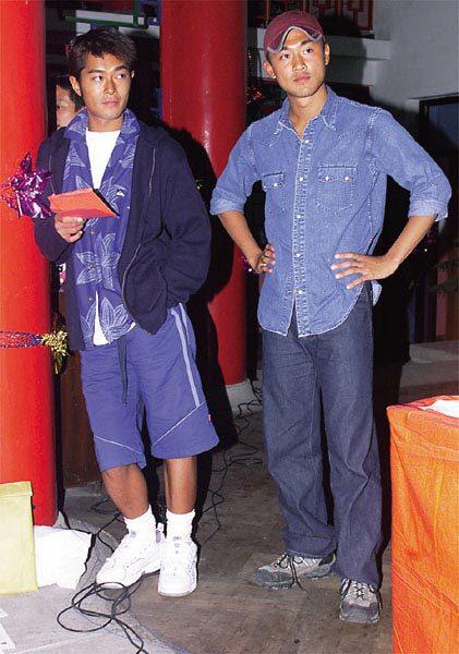 10年前的林峰和古天乐图片