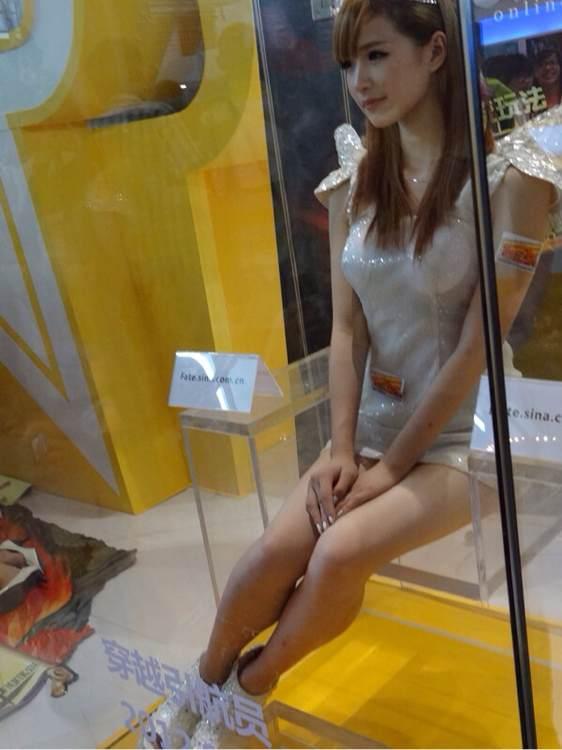 叼炸天的上海cj展览会!美女如云啊!速度来围观!