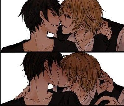夫夫接吻图你吗!