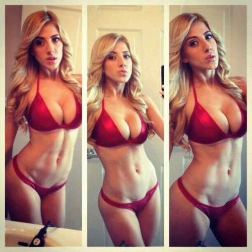 求健身美女图 来刺激一下荷尔蒙水平