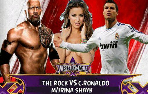 WWE第三十一届摔跤狂热大赛,个人恩怨赛高清图片