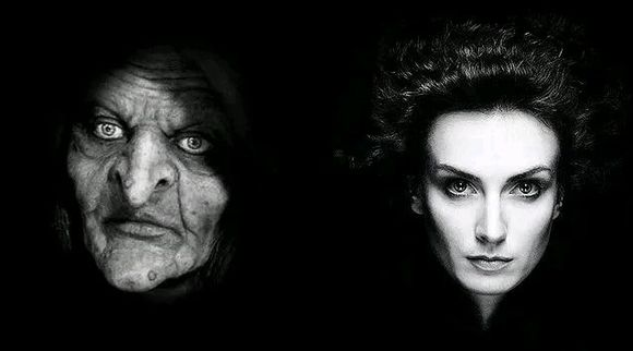 乎两种:白天是女巫