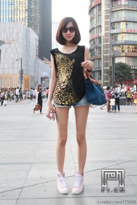 重庆美女街拍 河南吧