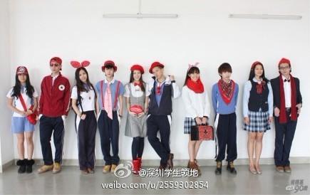 全国最好看校服,深圳校服 路过的一只吧 百度贴吧 高清图片