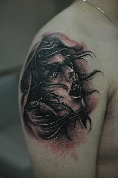 【【纹身素材·吸血鬼】】图片