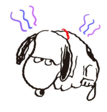 """『""""史""""终与你在一起』史努比表情集---line版图片"""